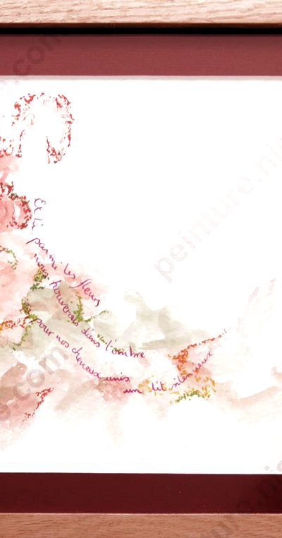 Et là, parmi les fleurs [Vendu]