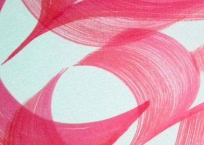 (détail) - Peinture calligraphique
