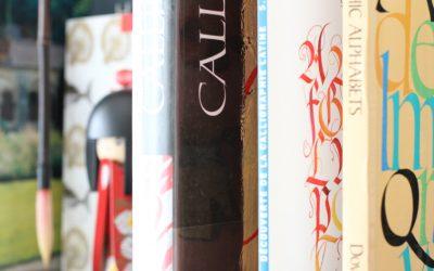 Des livres sur la calligraphie