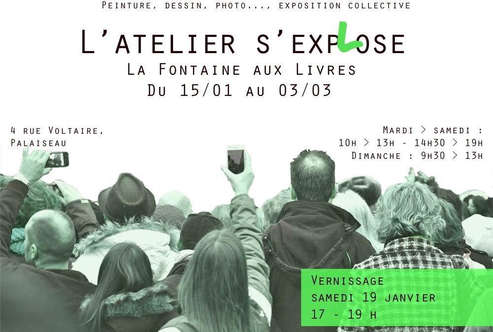 """Exposition """"L'atelier s'exp(l)ose"""""""