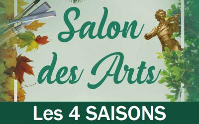 """Exposition au Salon des Arts """"Les 4 saisons"""" à Villebon-sur-Yvette"""