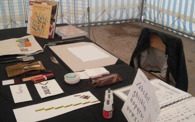 Rencontre autour de la calligraphie à Marolles-en-Hurepoix