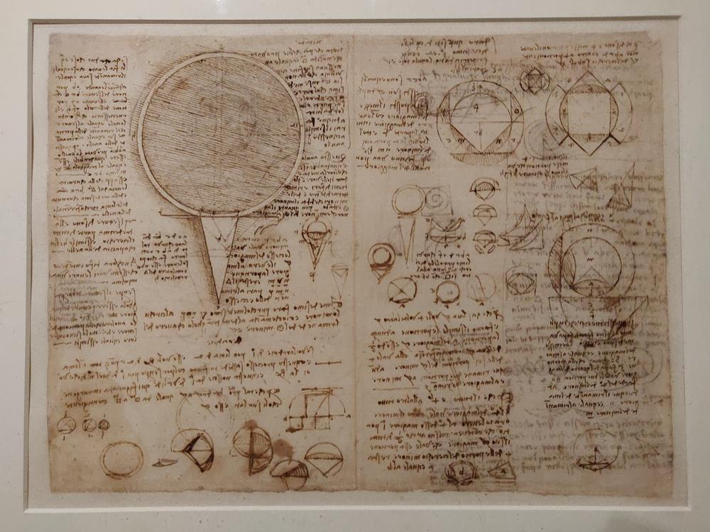 En passant   Exposition Léonard de Vinci au Louvre