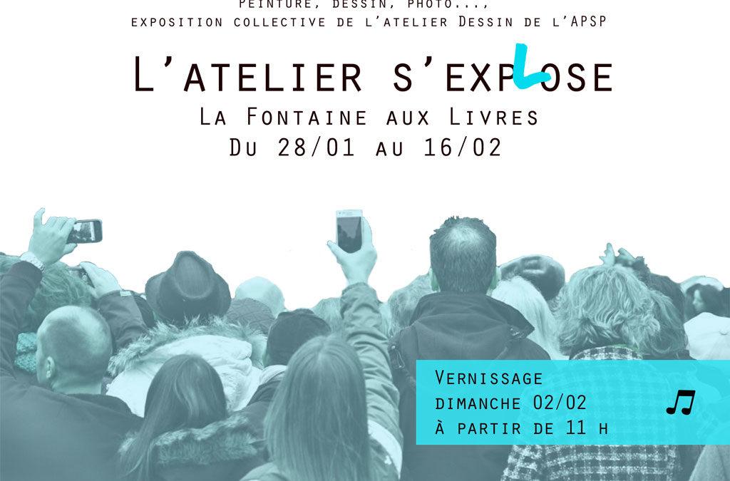 Exposition avec l'APSP en janvier-février