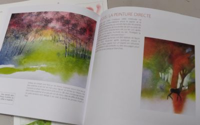 """Livre """"L'aquarelle facile"""""""