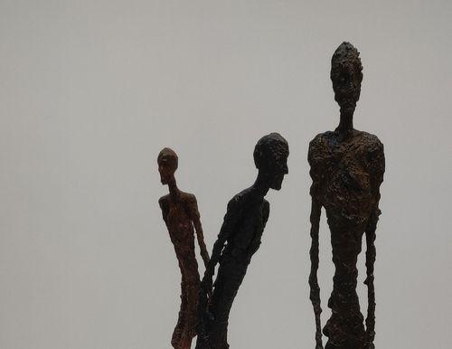 L'homme qui marche à la Fondation Giacometti